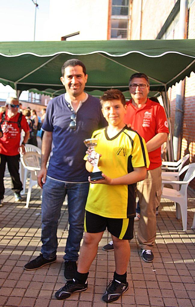 Campeón Karlos Hernández – Categoría Benjamín