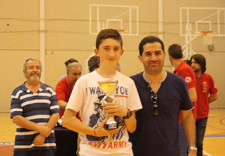 Campeón Diego López – Categoría Senior